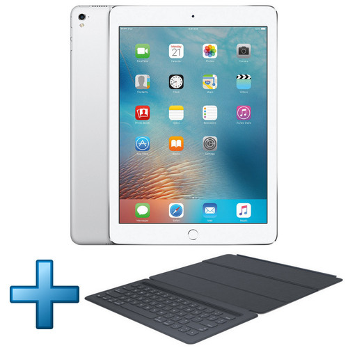 Apple iPad Pro 9.7'' Retina 32 Go Wi-Fi Silver (2016) + Smart Keyboard