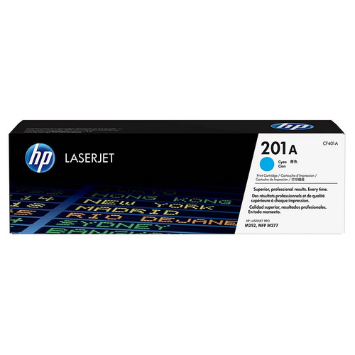 Toner Cyan CF401A, 201A, 1400 pages, HP