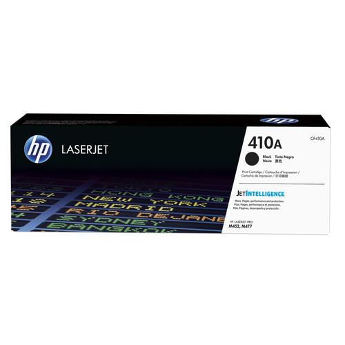 Toner Noir CF410A, 410A, 2300 pages, HP