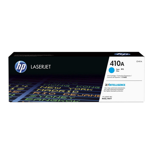 Toner Cyan CF411A, 410A, 2300 pages, HP