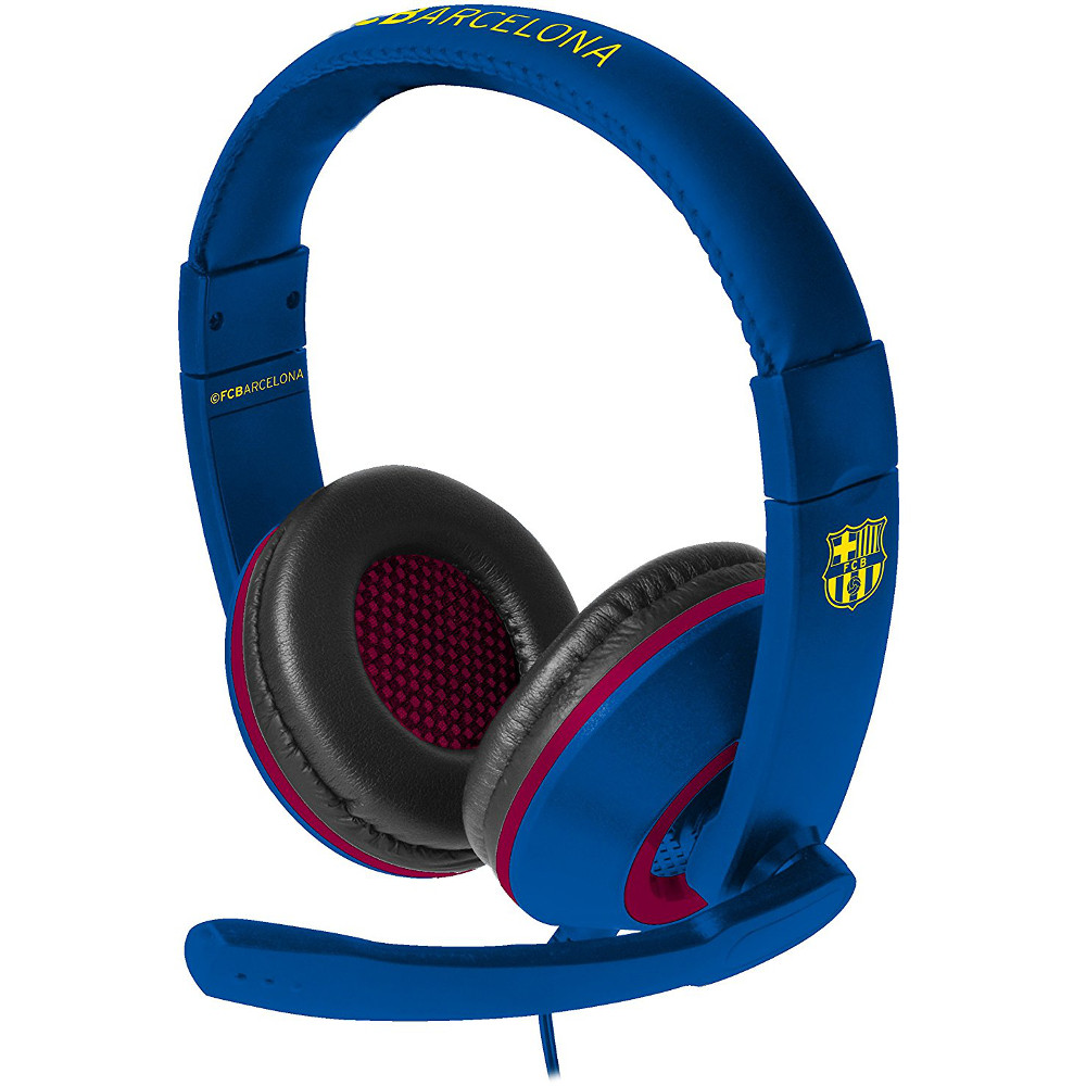 subsonic casque gaming fcb ps4 xbox one achat pas. Black Bedroom Furniture Sets. Home Design Ideas