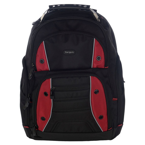 Targus Drifter 15.6'' Laptop Backpack Noir / Rouge