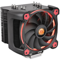 Thermaltake Riing Silent 12 Pro, Rouge