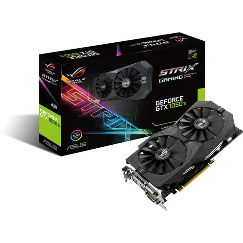 Asus GeForce GTX 1050 Ti ROG STRIX, 4 Go