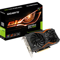 Gigabyte GeForce GTX 1050 G1 GAMING, 2 Go