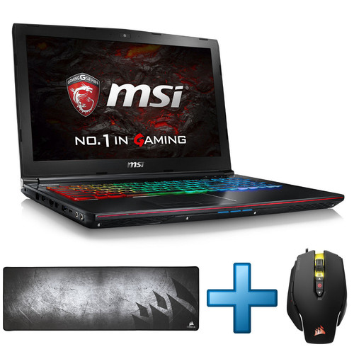 MSI GE62VR-6RF-221XFR Apache Pro + Pack Corsair Gaming