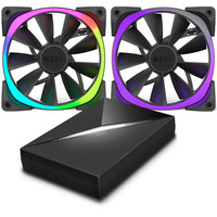 Vente flash exceptionnelle sur Pack de 2 ventilateurs NZXT Aer 140 RGB & HUE+