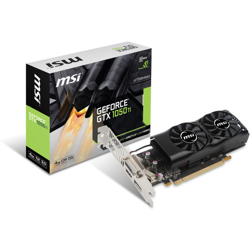 MSI GeForce GTX 1050 Ti 4GT LP
