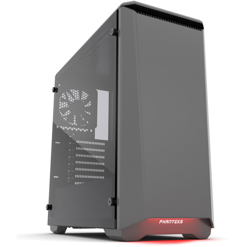 Phanteks Eclipse P400S (Silent Edition) Tempered Glass, Anthracite Grey