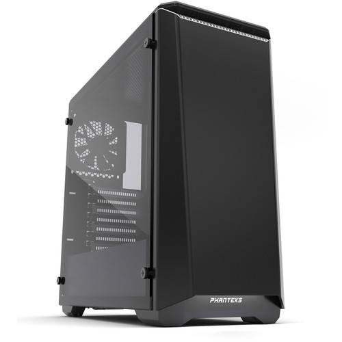 Phanteks Eclipse P400S (Silent Edition) Tempered Glass, Noir/Blanc