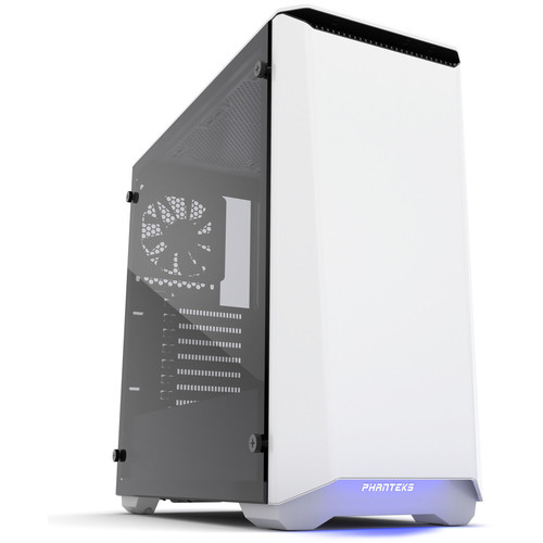 Phanteks Eclipse P400S (Silent Edition) Tempered Glass, Glacier White