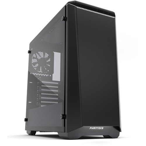 Phanteks Eclipse P400 Tempered Glass, Noir/Blanc
