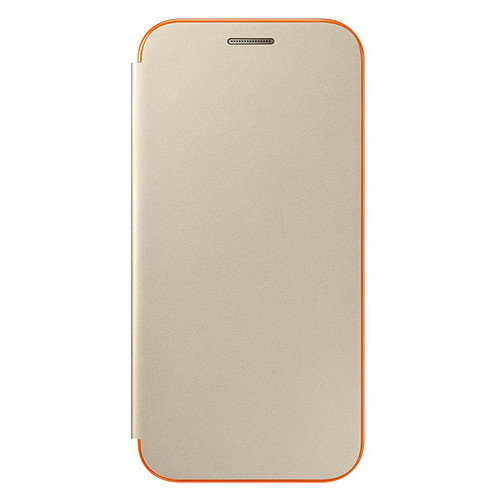 Samsung Neon Flip Cover pour Galaxy A3 2017 Or