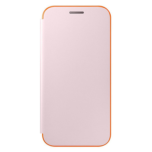 Samsung Neon Flip Cover pour Galaxy A3 2017 Rose