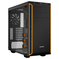 Be Quiet! Pure Base 600, Noir/Orange - Version fen�tre