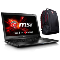 MSI GL72 7RD-261FR + MSI Hecate Gaming Backpack