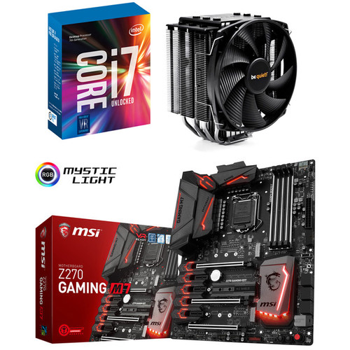 Kit d'évolution Intel Core i7-7700K + MSI Z270 GAMING M7 + Dark Rock 3 + jeu offert !