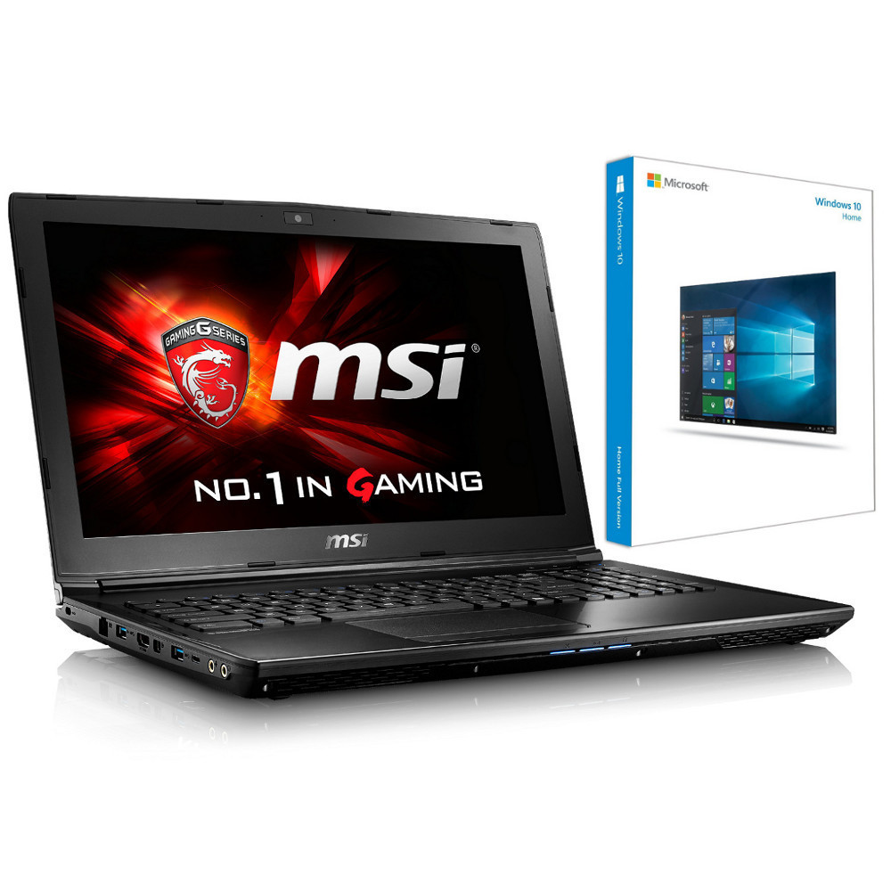 msi gl62 7rd 468xfr microsoft windows 10 famille 64 bits oem top achat. Black Bedroom Furniture Sets. Home Design Ideas