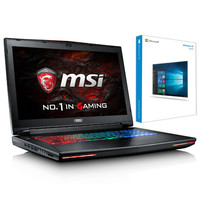 MSI GT72VR-6RE-273XFR Dominator Pro + Microsoft Windows 10 Famille 64 bits OEM