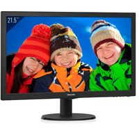 Philips 223V5LSB2, Noir