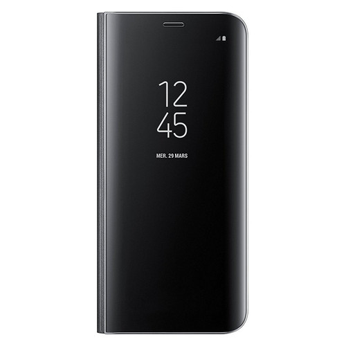 Samsung Clear View Standing Cover pour Galaxy S8 Noir