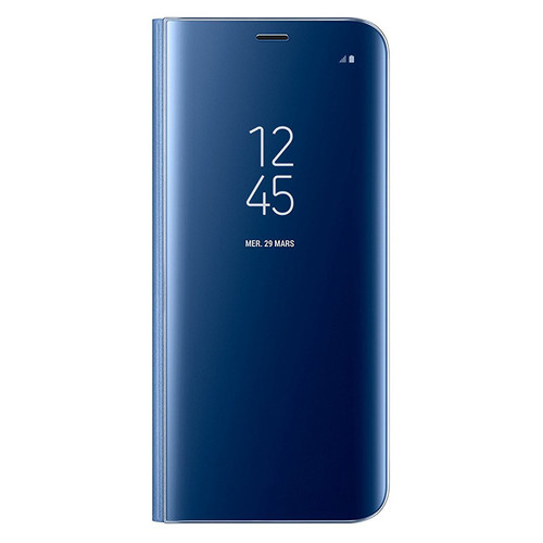Samsung Clear View Standing Cover pour Galaxy S8 Bleu