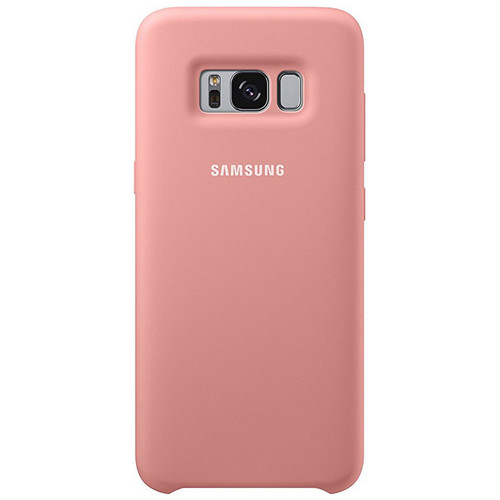 Samsung Silicone Cover pour Galaxy S8 Rose