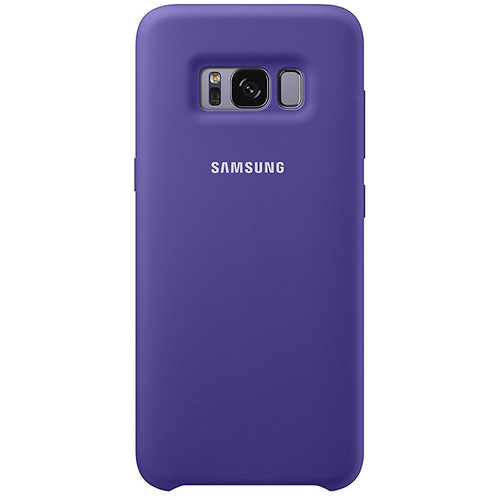 Samsung Silicone Cover pour Galaxy S8 Violet