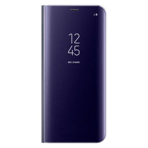 Samsung Clear View Standing Cover pour Galaxy S8 Plus Lavande