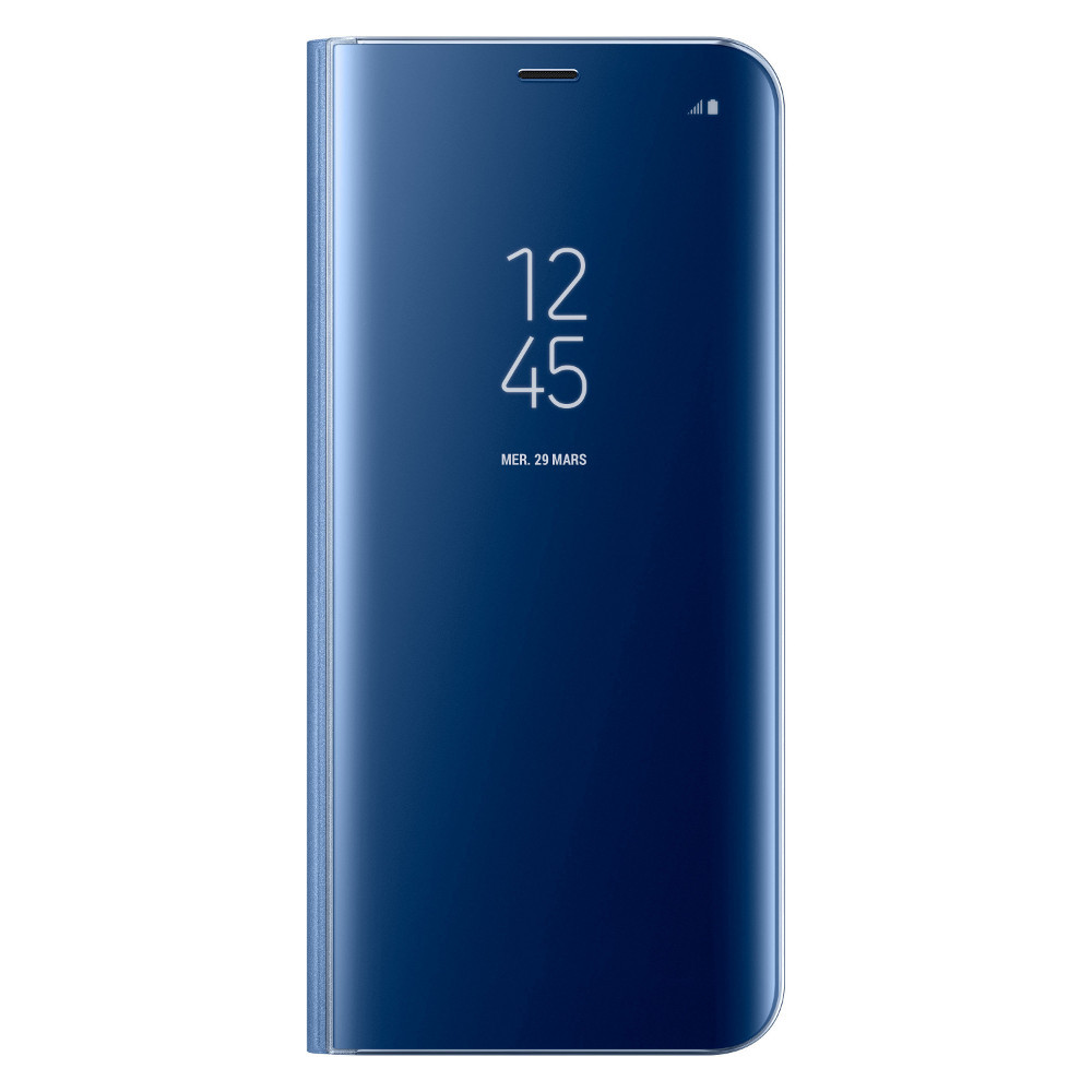 samsung clear view standing cover pour galaxy s8 plus bleu top achat. Black Bedroom Furniture Sets. Home Design Ideas