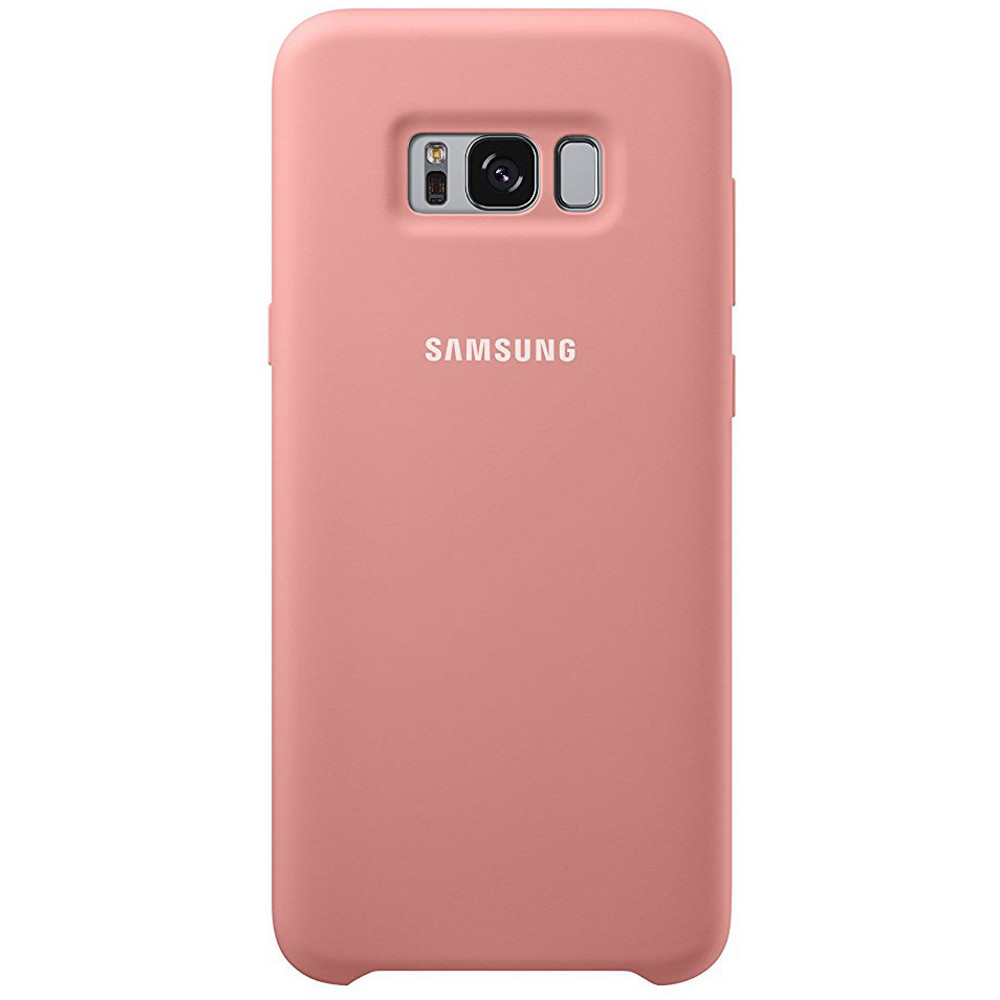 samsung silicone cover pour galaxy s8 plus rose achat pas cher avis. Black Bedroom Furniture Sets. Home Design Ideas
