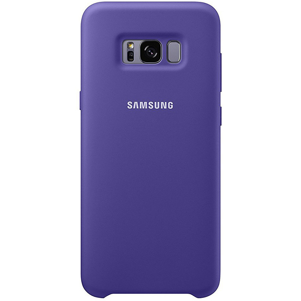 samsung silicone cover pour galaxy s8 plus violet achat pas cher avis. Black Bedroom Furniture Sets. Home Design Ideas