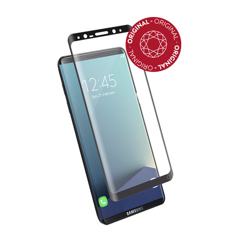 Force Glass Film de protection d'écran pour Galaxy S8 Transparent