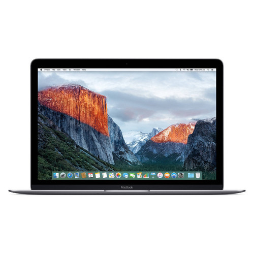 Apple MacBook 12'' 256 Go Gris Sidéral (2017)
