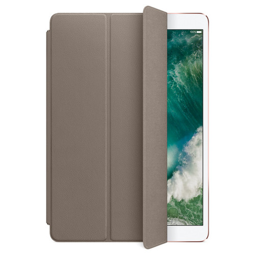 Apple iPad Pro 10.5'' Leather Smart Cover Taupe