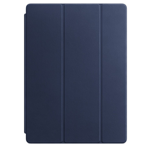 Apple iPad Pro 12.9'' Leather Smart Cover Bleu nuit