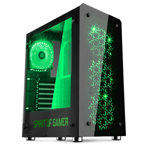 Spirit of Gamer Rogue IV (LED Vertes)
