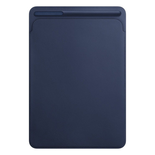 "Apple Leather Sleeve pour iPad Pro 12.9"" Bleu nuit"
