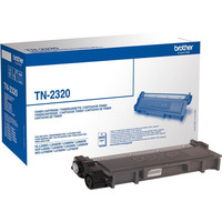 Toner Noir TN-2320, 2600 pages, Brother