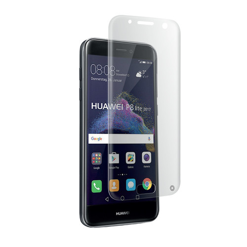 Force Glass Film de protection d'écran pour Huawei P8 Lite 2017 Transparent