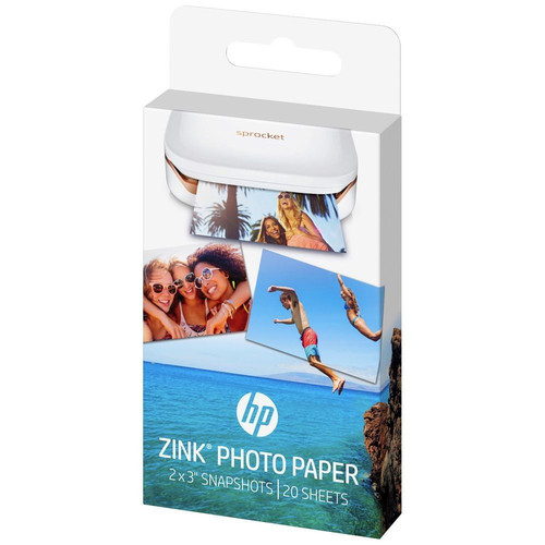 Papier photo adhésif HP Zink pour imprimante HP Sprocket