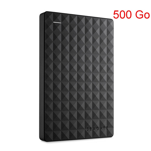 Seagate Expansion Portable, 500 Go, Noir