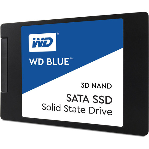 Western Digital WD Blue 3D NAND SSD, 2 To, SATA III