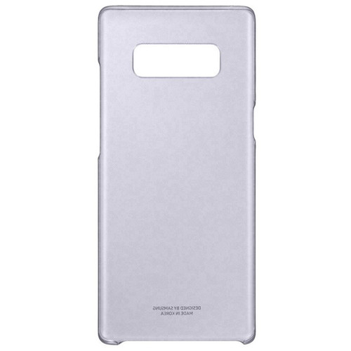 Samsung Clear Cover pour Galaxy Note 8 Lavande