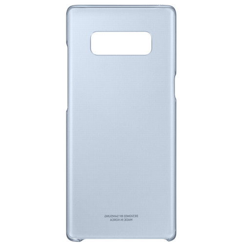 Samsung Clear Cover pour Galaxy Note 8 Bleu