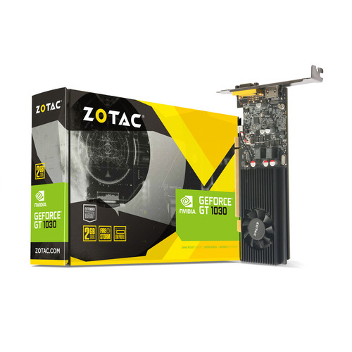 Zotac GeForce GT 1030, 2 Go