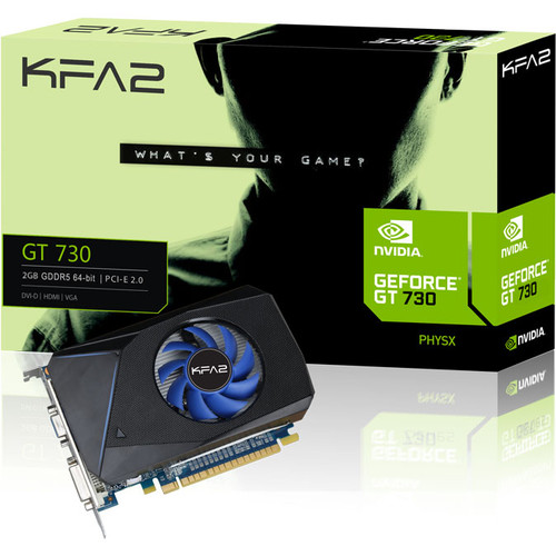 KFA2 GeForce GT 730, 2 Go