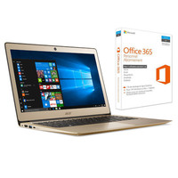 Acer Swift 3 (SF314-51-58W9) Or + Microsoft Office 365 Personnel (1 an)