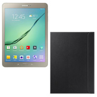 Samsung Galaxy Tab S2 VE 9.7'' 32 Go Wi-Fi Or + Samsung Book Cover