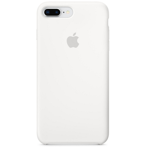 Apple Silicone Case pour iPhone 7 Plus/8 Plus Blanc